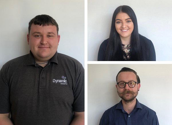 Three New Team Members - Dynamic Networks Group